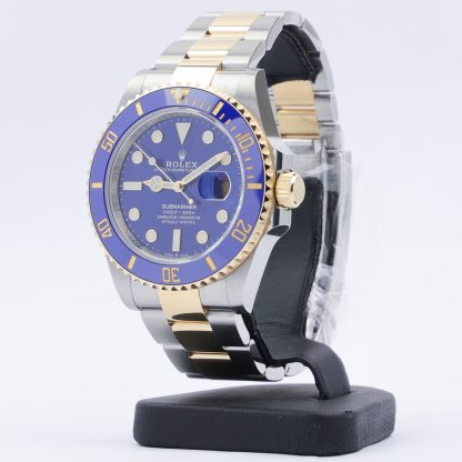 Rolex Submariner Date Two-Tone Blue Dial 126613LB New 2021
