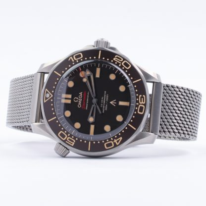 Omega Seamaster Diver 300m Co-Axial 007 James Bond Edition No Time to Die 2021