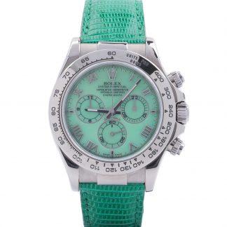 Rolex Cosmograph Daytona Beach Green Chrysoprase 116519 P-Serial