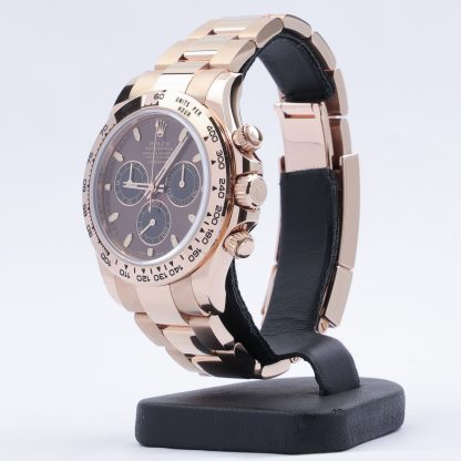 Rolex Daytona Cosmograph Everose Gold Chocolate Dial 116505 New 20